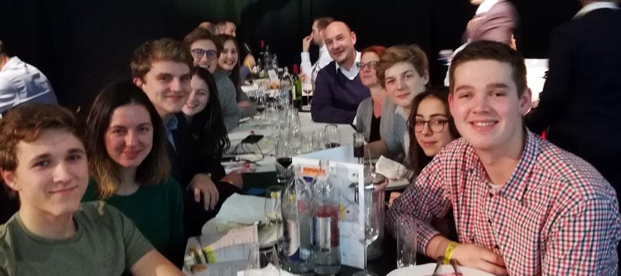 Klessheim Schülerinnen und Schüler in Luxemburg